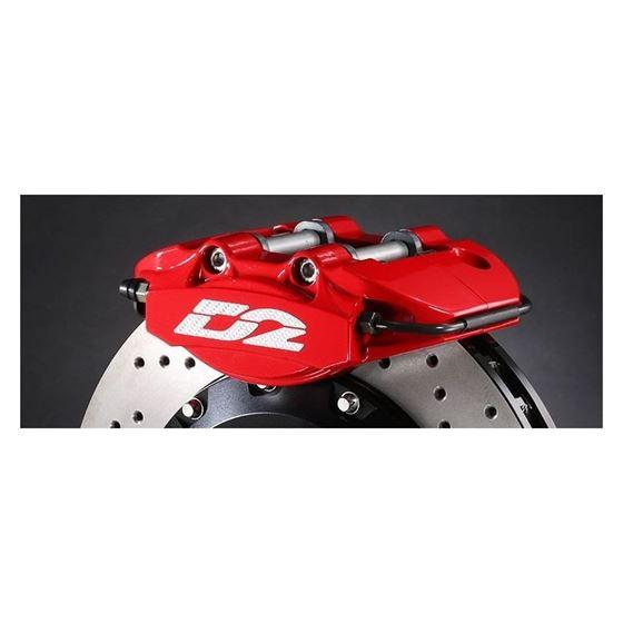 D2 Racer Version Big Brake Kit -2 Piston Caliper-4