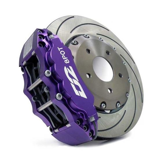 D2 Race Version Big Brake Kit -6 Piston Caliper-2