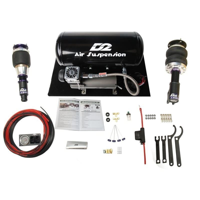 2000-2007 Toyota Echo D2 Racing Air Struts with D2